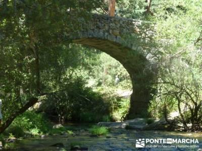 Las Pesquerías Reales - Senderismo Segovia (Ruta de las Pesquerías Reales); sendero ecologico